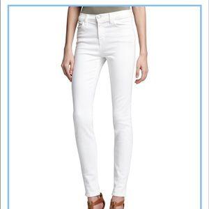 J brand skinny jeans in white (blanc)